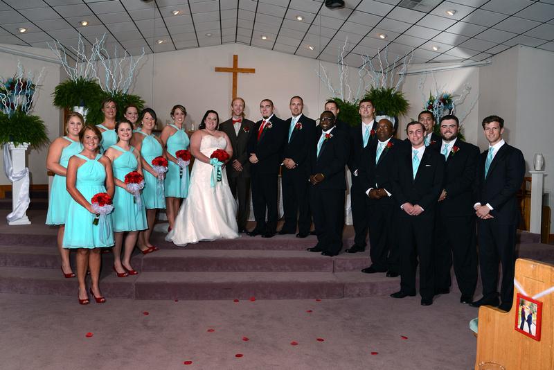 Wedding in Whitesburg Kentucky.  A wonderful church ceremony and celebration.