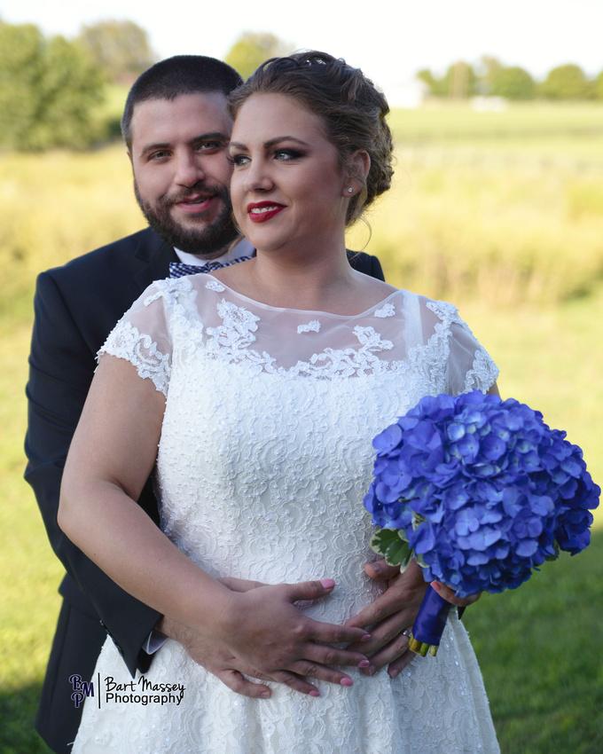 Lauren and Dustin Hill wedding at The Moonlight Farm in Nicholasville, Kentucky Bart Massey Photography