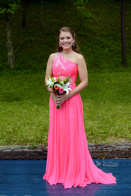 Katie Campbell Prom Perry County Central High School