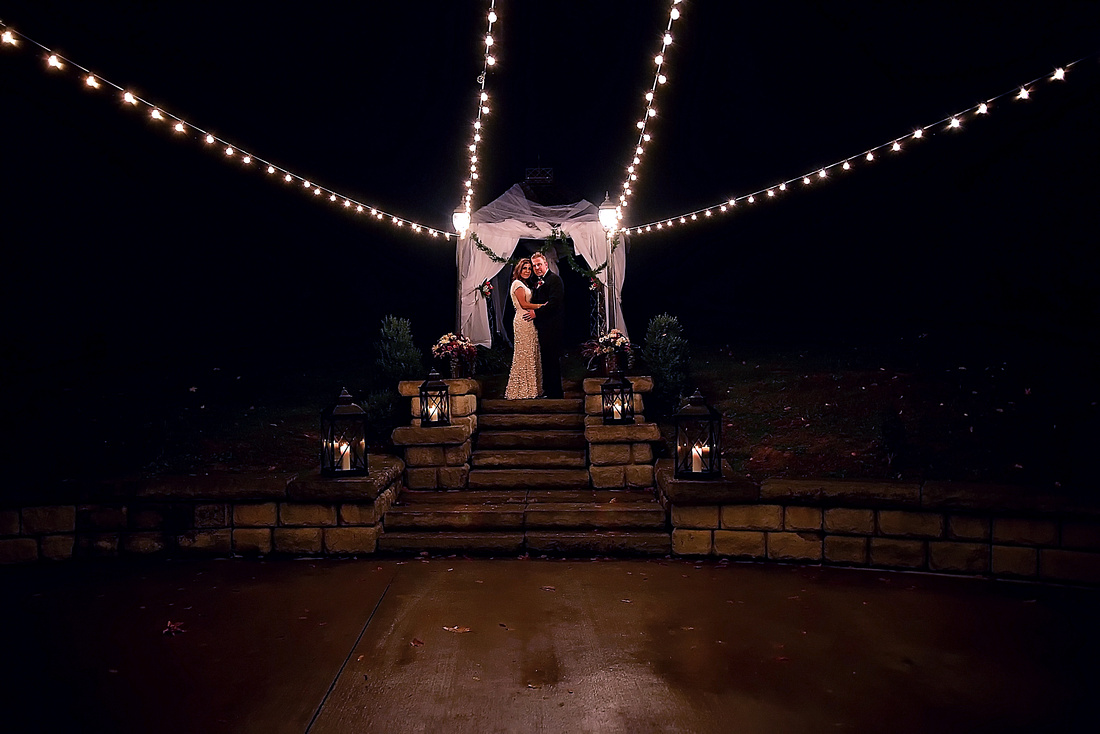 """A beautiful destination wedding at """"The Barn"""" in Gatlingburg TN and Pigeon Forge Tennessee.  Photographed by Bart Massey Photography of Hazard Lexington Kentucky."""