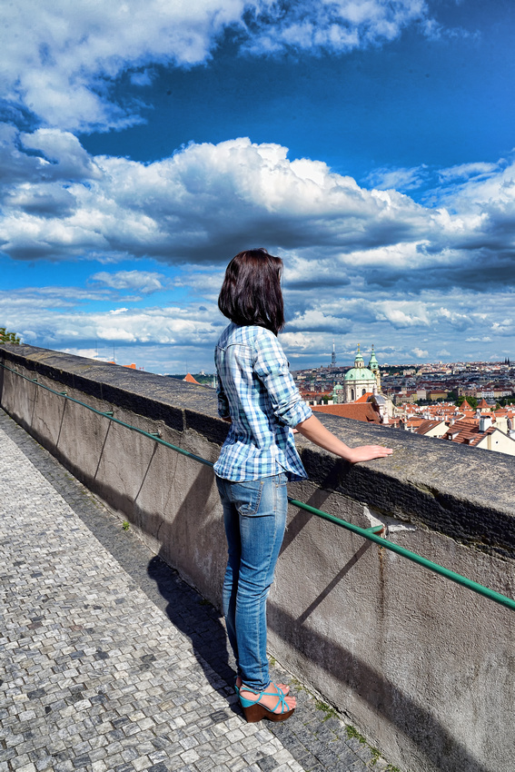 Darya, Professional model from Syberia Russia photographed in Prague Czech Republic by Bart Massey