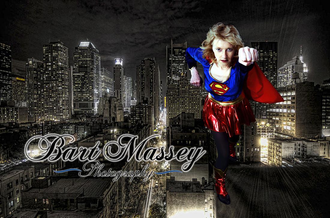 Superwoman and Superman