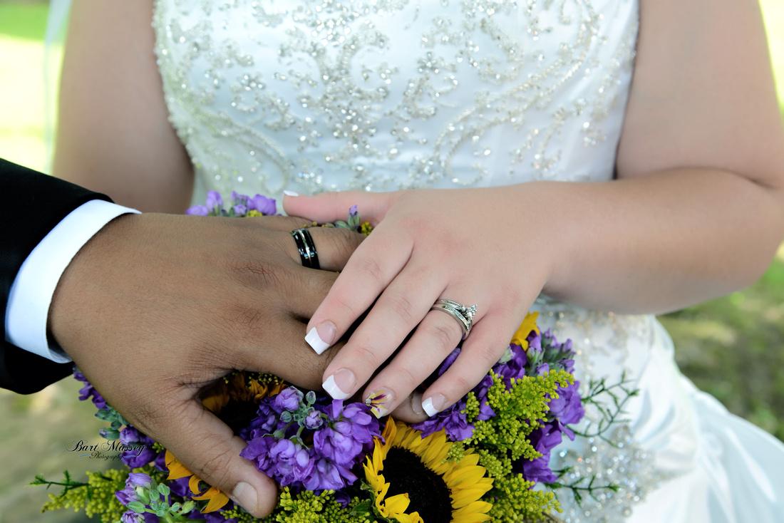Kira LaRon wedding Hazard Kentucky Lothair Community Church